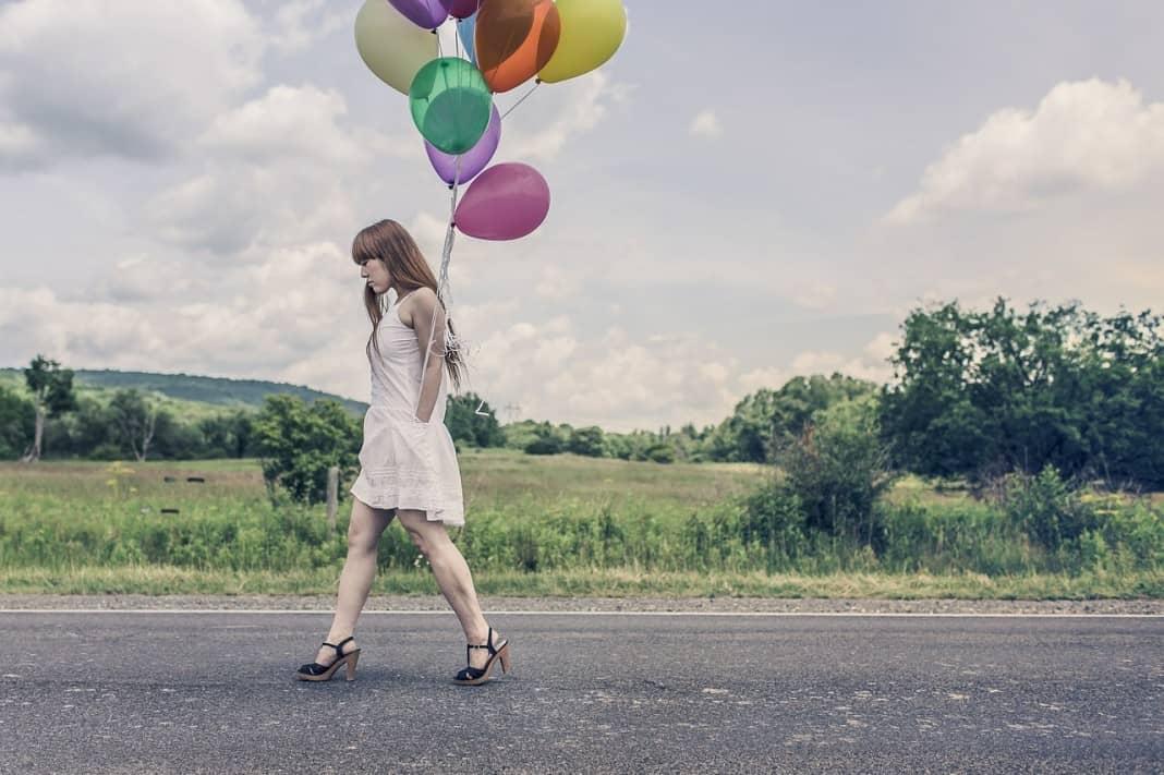 alleine glücklich werden